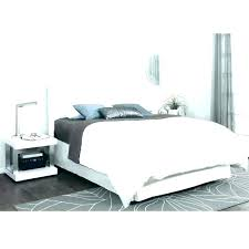 white leather king size bed purple headboard high beds with drawers white leather bed