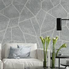 3d geometric wallpaper bedroom living