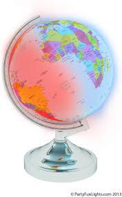 Bolcom Mikamax Globe Met Licht Mikamax Speelgoed