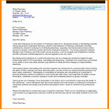 Pharmacist Experience Letter Format Resume Pharmacy Technician Cover