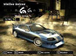 Need For Speed Most Wanted Toyota Supra Darius' Vinyl from NFS ...