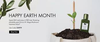 happy earth month spend 45 and get a free tote flowering plantable pencil