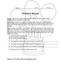 Scientific Method Worksheet | Pinterest | Scientific Method ...