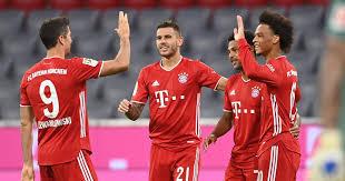 Hand signed framed robert lewandowski reds in bayern munich a3 photo frame. Watch Lewandowski Makes Epic Assist As Bayern Munich Hit Eight Past Schalke In Bundesliga Opener