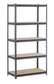 edsal ur2436 industrial gray heavy duty steel boltless shelving storage rack 18
