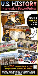 United States History Powerpoint Bundle Pinterest United States