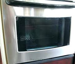 clean inside glass oven door best way to clean oven glass cleaning oven glass whirlpool range