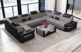 Premium Fabric Sofa Denver U Shape