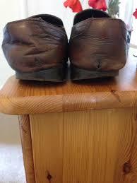 Shoe Wear Patterns Outside Heel