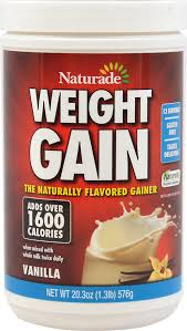 naturade weight gain powder sugar free vanilla 18 oz upc 079911026614