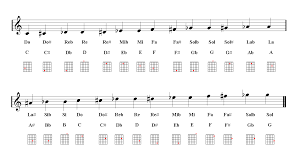 Guitar Notes Chart Guitar Notes Fingering Chart