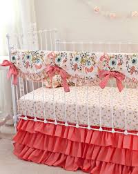 blush pink and c crib bedding girl pink gold nursery rattan king bed