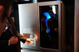 see through refrigerator. LG\u0027s See-through Smart Fridge Costs $8,500. Https://www.cnet.com/pictures/an-8500-see-through-fridge-and-more-from-the-ritzy-lg-signature-lineup/ \u2026 See Through Refrigerator