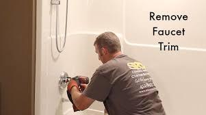 how to change a bathtub faucet remove faucet trim how to change a bathtub faucet handle
