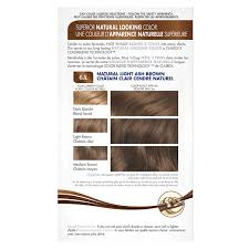 Nice N Easy Light Ash Brown Non Permanent Nice N Easy Permanent Hair Color 6a Natural Light Ash Brown 1 Kit