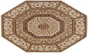 jcpenney octagon area rugs blue round size ikea rustic leather cowhide rug art deco lodge for dining room western cabin wildlife