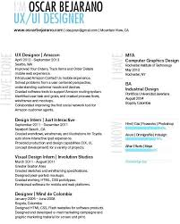 Ux Designer Resume For Free User Interface Designer Resume