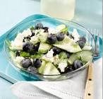 blueberry cucumber salad