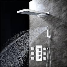 best shower faucet sets. bathroom wall mounted rainfall shower head handshower 6 body sprays set best faucet sets