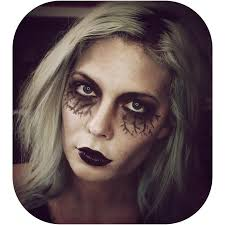 tutorial ellah durliat little zombie helps with her makeup makeup dead makeup ill be sharing more