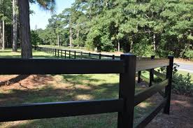 Black vinyl fence High Salthubco Vinyl Fencing Charlotte Nc Allison Fence Company