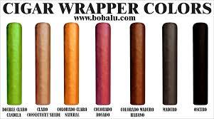 Leaf Color Chart For Sale Cigar Size Chart Cigar Wrapper Color Chart