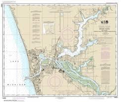 Lake Michigan Nautical Chart 14933 Grand Haven Nautical Chart