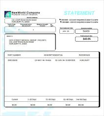 Free 11 Statement Of Account Samples Templates Pdf