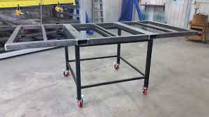 sheet metal shop shop sheet metal rack update 6l designs