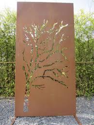 Sch N Metall Sichtschutz Garten Erstaunlich Metalltz Deco Art Rost