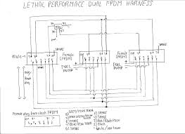 lethal dual fpdm wiring harness? Dual Wiring Harness Dual Wiring Harness #4 dual wiring harness diagram