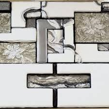 abstract leather wall art sculpture headboard the