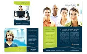 Ms Word Brochure Template Recent Word Fold Brochure Template With