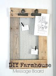 Kitchen Message Board Diy Farmhouse Message Board