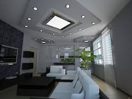modern recessed lighting living room