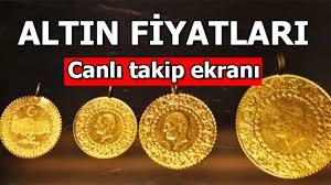 Altın Fiyatları Gram Çeyrek Altin Canlı 24 Ayar Cumhuriyet Reşat Ceyrek Altın  Fiyat Ne Kadar?