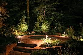 ideas for garden lighting. Outdoor Garden Lighting Ideas Image Backyards With Hot Tubs For