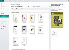 Microsoft Publishing Templates Ms Publisher Program Templates