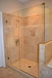 bathroom renovation travertine tile