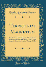 Magnetic Declination Chart Terrestrial Magnetism Distribution Of The Magnetic