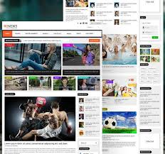 Newspaper Website Template Free Download Free Download App Web Ui Kits For Ps Ai And Sketch