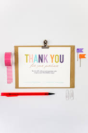 Business Thank You Card Template Business Thank You Cards Template INSTANT DOWNLOAD Naturally 21