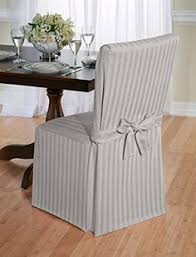 luxurious dining chair cover herringbone beige grey and red gray