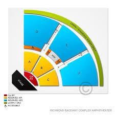 Richmond Amphitheater Seating Chart Richmond Raceway Concert Seating Chart 2019