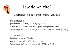 How To Quote An Article Interesting Cite It Right ESLW48