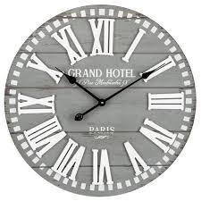 grand hotel wood wall clock hobby
