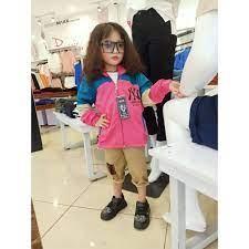 áo khoác bé gái gió 2 lớp thời trang Unisex từ 5 đến 14 tuổi D30 | Nông  Trại Vui Vẻ - Shop