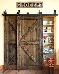 Barn Door In Kitchen Barn Doors Ways To Use A Barn Door