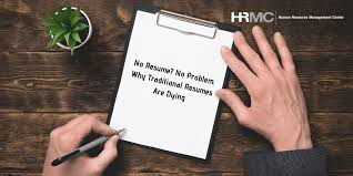 Photos On Resumes No Resume No Problem Why Traditional Resumes Are Dying Hrmc