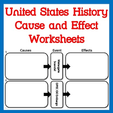 Cause And Effects Of Industrialization Worksheets Teaching